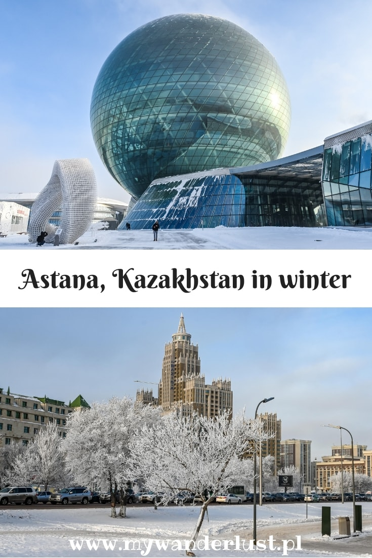 winter in Astana
