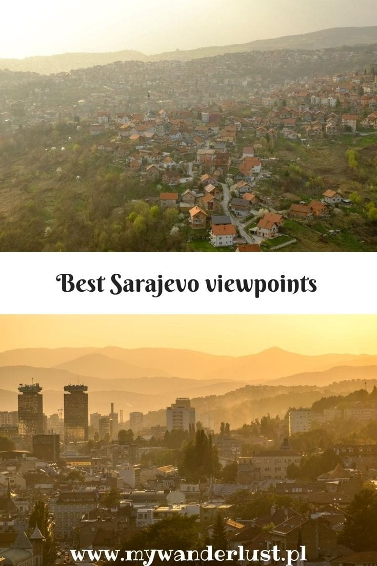 sarajevo viewpoints